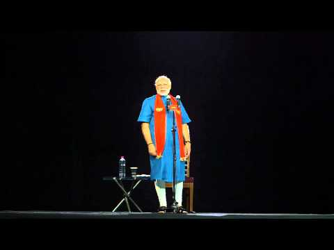 Hon ble CM Shri. Narendra Modi s 3D Holographic Speech on 29th Nov,2012