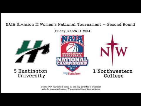 HU Women's Basketball vs Northwestern College (AUDIO ONLY)