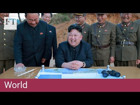 North Korea threat after Trump vows 'fire and fury' | FT World