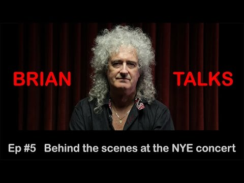 BRIAN TALKS #5 - Behind the scenes at the New Years Eve concert