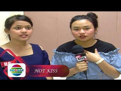 Kejahilan Putri dan Aulia di Belakang Panggung DAA3 - Hot Kiss