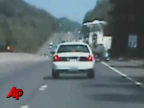 Raw Video: Boat Tips During High Speed Chase Video