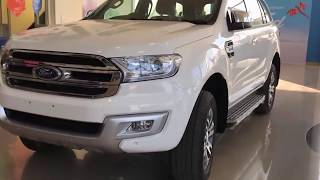 The All New FORD Endeavour 2019 features interior
