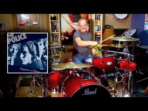 Message in a Bottle - The Police - Drum Cover By Domenic Nardone thumbnail