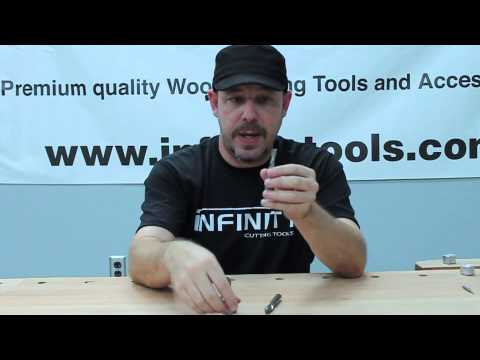Infinity Cutting Tools - Solid Carbide Spiral Router Bits