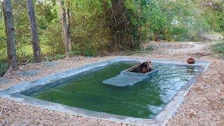 Make Secret House in Water
