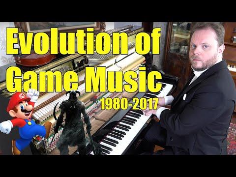 Evolution of Game Music (1980 - 2018) Vídeos de zueiras e brincadeiras: zuera, video clips, brincadeiras, pegadinhas, lançamentos, vídeos, sustos