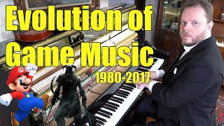 Evolution Of Game Music 1980 2018