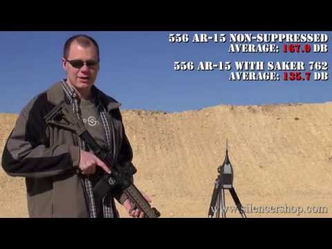 Saker 762 Suppressor Review AR-15. 308. 300 Blackout