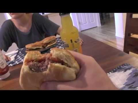 Meal Vlogs: August 25, 2014 - Burgers w/Jalapeno Bacon Relish
