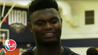 Zion Williamson before his NBA debut: I don't know if I'll be able to sleep tonight | NBA on ESPN