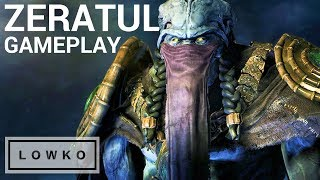 StarCraft 2 Co-op: ZERATUL GAMEPLAY! (New Commander)