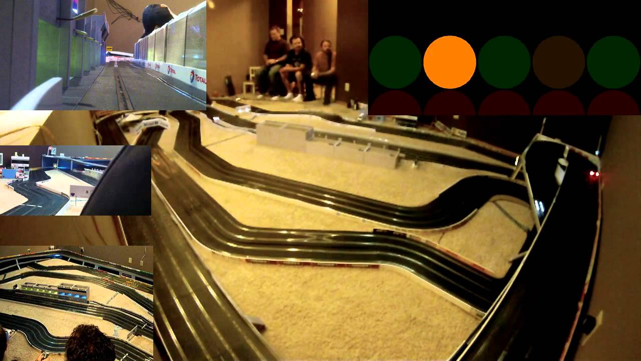 1 32 scale slot car track buildings the 2nd annual butterball 250 11 21 12 youtube - Scalextric sport digital console ...