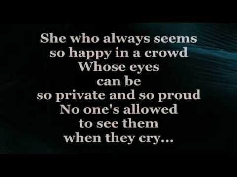 SHE (Lyrics) - ELVIS COSTELLO