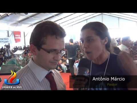 UMADEB 2013  Dia 12-02 - Entrevista Pr. Antônio Márcio