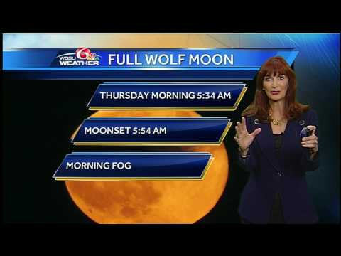 Wednesday Overnight: Full Wolf Moon in the morning #1