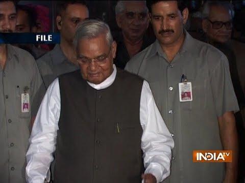 PM Modi, Amit Shah and other top leaders arrive at Delhi's AIIMS to see Atal Bihari Vajpayee