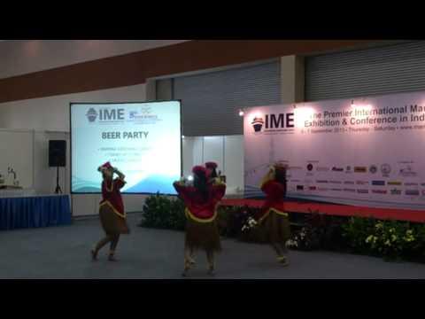 Tari Sajojo-Sanggar Yudha Asri@Indonesia Maritime Expo(IME), JCC, Senayan, Jakarta 6/9/2013