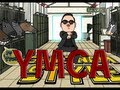 Download PSY Meets The Village People - YMCA (Gangnam Style) (강남스타일) MP3 song and Music Video