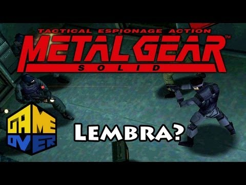 Lembra do Metal Gear1?