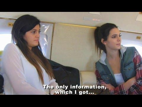Kendall Jenner & Kylie Fly To Kim Kardashian Secret Engagement