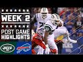 Jets vs. Bills (Week 2) | Post Game Highlights | NFL