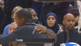 LeBron James Gives Kevin Durant Respect After Beating Him and the Cavaliers! Warriors vs Cavaliers