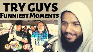 Try Guys Funniest Moments | Reaction