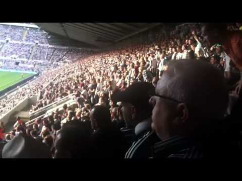 Hatem Ben Arfa Video Chant By Newcastle United Fans