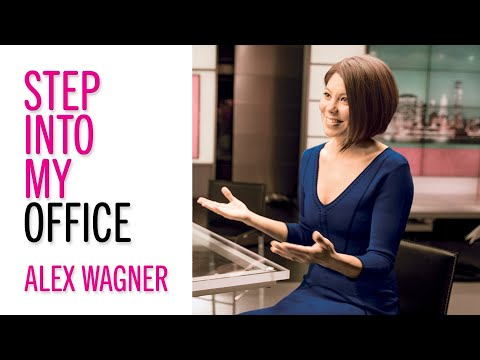 Career Advice From News Anchor Alex Wagner -- Glamour's Step into My Office -- Career Tips