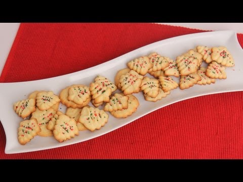 Christmas Spritz Cookies Recipe