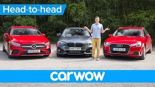 Mercedes A-Class vs BMW 1 Series vs Audi A3 2019 review - which is the best premium small car?