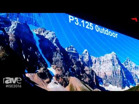 ISE 2016: Shenzhen LAMP Shows the P3.125 Outdoor LED Display