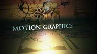 Motion graphics showreel 2011