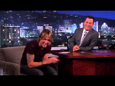 Keith Urban on Jimmy Kimmel Live PART 1