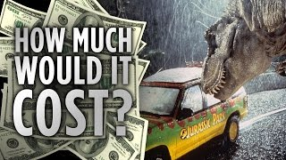 How Much Would it Cost to Build Jurassic Park?