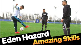 Eden Hazard doing amazing skills with F2Freestylers!