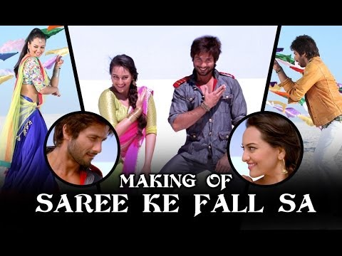 Saree Ke Fall Sa - Making Of The Song - R...rajkumar video