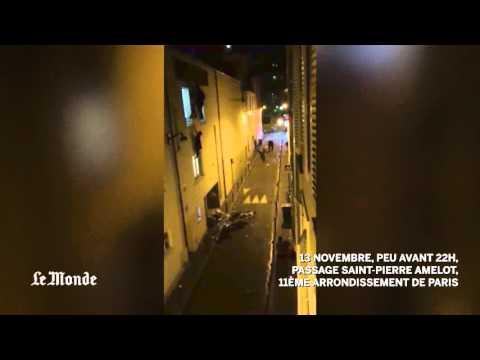 La embarazada que quedó colgada de una ventana del Bataclan encontró a su salvador