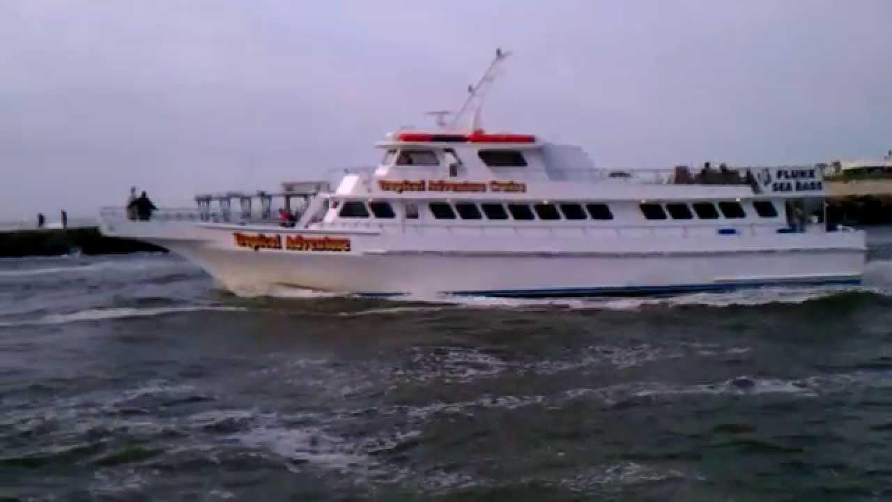 Fishing shark river inlet belmar nj youtube for Surf fishing nj license