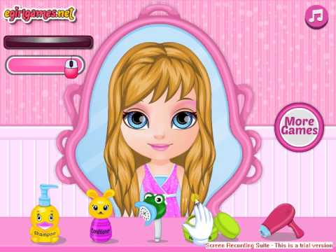 Baby Barbie Summer Braids Gameplay Cartoon Video At Www.baby-games.me video