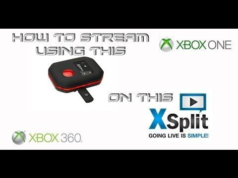 How to Stream with a Hauppauge HD PVR Rocket using Xsplit