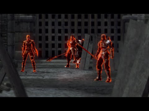 Gank Squad Boss Fight, Sunken King Dlc - Dark Souls 2 (ng+) video