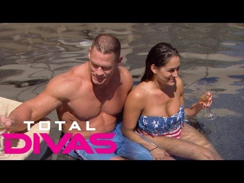 Take A Tour Of John Cena's House: Total Divas, Aug. 4, 2013 video