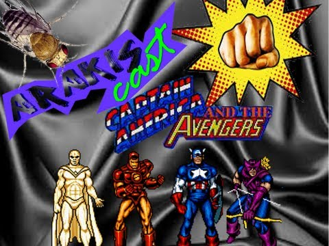 Arakiscast #1 – Captain America and The Avengers (SNES)