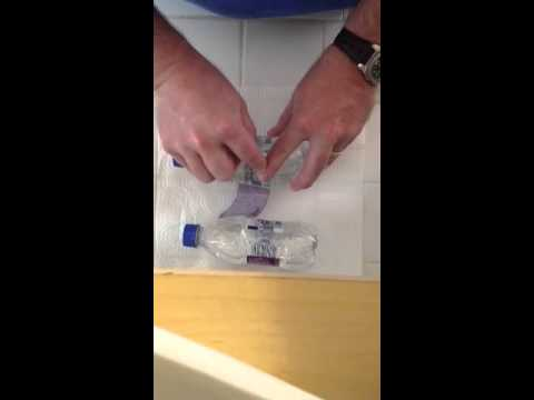 How to smuggle booze in water bottles