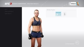 EA Sports UFC 3 Ranked Match: Namajunas vs Gadelha