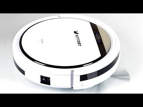 Недорогой робот-пылесос Kitfort KT-518