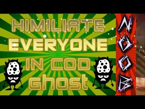 Game | How to humiliate in COD Ghost! Complete Field Order | How to humiliate in COD Ghost! Complete Field Order