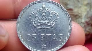 ** 25 pesetas 1975 monedas de España**